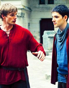 Merlin and Arthur | Merlin - BBC | Wallpaper