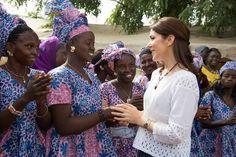 Crown Princess Mary in Senegal last week http://ift.tt/1MxJltj - http://ift.tt/1HQJd81