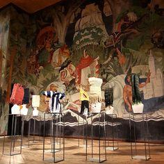 MESCHAC GABA solo exhibition Musée National de l'Histoire de l'Immigration  Till September 20th, 2015 Curated by Isabelle Renard - Meschac Gaba