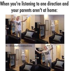 I DO THIS ALL THE TIME! Actually, it's more like singing at the top of my lungs and dancing while getting food, just plain dancing, and cooking