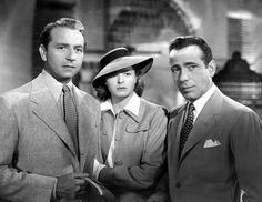 Casablanca. Am  I the only one who liked Victor better than Rick? Yeah, I probably am. :)
