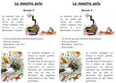"""TAPUSCRIT """"LE MONSTRE POILU"""""""