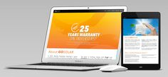 GOSolar Solar Powered Website #Digital #o8 #Origin8 #Branding