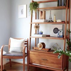 Monika at Zigzagstudio on Instagram:  I want that shelf and everything on it! Love the pillow too!
