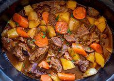 Lamb Stew - Dinner, then Dessert Dinner Recipes lamb recipes Lamb Recipes, Meat Recipes, Slow Cooker Recipes, Cooking Recipes, Recipes Dinner, Dinner Ideas, Jewish Recipes, Quick Recipes, Lunch Ideas