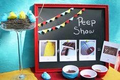 peeps - peep show with peeps.