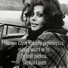 #Sophia Loren #piękno   Cytaty motywacyjne plus size   Piękna i odważna XL-ka   Piękno nie ma rozmiaru