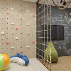 20 Fantastic Kids Playroom Design Ideas – Modern Home Kids Bedroom Designs, Playroom Design, Kids Room Design, Playroom Ideas, Kid Playroom, Kids Rooms Decor, Basement Play Area, Garage Playroom, Basement Gym