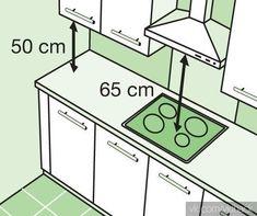 64 Best Ideas For Kitchen Design Plans Layout Kitchen Furniture, Kitchen Interior, Kitchen Decor, Furniture Design, Design Kitchen, Kitchen Sets, Kitchen Storage, Kitchen Measurements, Cuisines Design