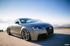 Just sitting there! #Audi TTRS on RS4 Wheels