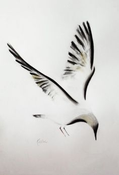 Relevé (2015) Ink drawing by Kellas Campbell | Artfinder