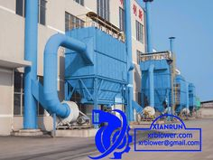 Xianrun Blower Dust Collector Centrifugal Fan, www.lxrfan.com, xrblower@gmail.com Dust collector is mainly composed of upper box, middle box, air inlet pipe, ash bucket, centrifugal fan, filter bag, discharge device, etc.