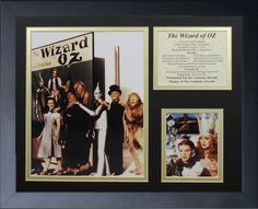 Wizard of Oz - Bookcover Framed Photo Collage