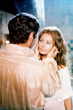 One of my favorites.  Omar Sharif and Sophia Loren in More Than a Miracle.