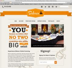 Our new website. www.sidecarglobalcatering.com