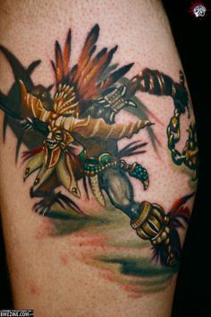 Video Game Tattoos | usually hate video game tattoo's, but this is pretty sick