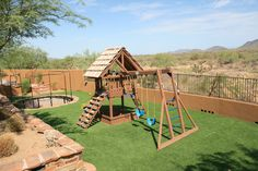 Nice Synthetic Grass for your kids to Play on is always fun!  Installed by Arizona Turf Masters  Supplied by Tthe Synthetic Grass Store