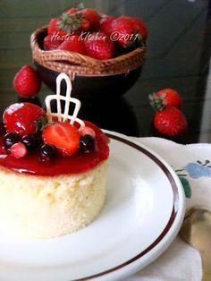 HESTIS KITCHEN yummy for your tummy Unbaked Strawberry Cheese