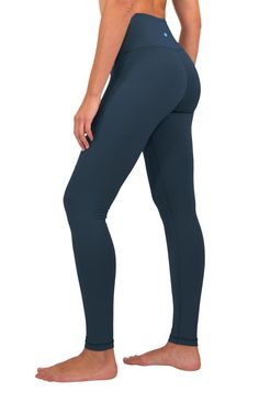 Dutte Lisa High Waist Yoga Pants with Pockets for Womens Leggings Full-Length Yoga Pants