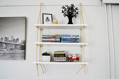 Yksinkertainen hyllyprojekti | Tee-se-itse | MELLAKKA Konmari, Shelves, Home Decor, Shelving, Decoration Home, Room Decor, Shelving Units, Home Interior Design, Planks