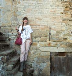 THE FASHIONAMY by Amanda: Tatuaggi pastello - maxitee outfit