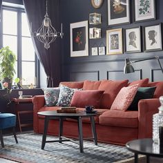 IKEA - Κατάλογος 2021 Ikea Living Room, Living Rooms, Ikea Family, Stylish Chairs, Underfloor Heating, Types Of Flooring, Modern Spaces, How To Clean Carpet, Dining Table
