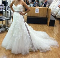 Enzoani Erin dress twins unite!!!! Show me your pics!! :  wedding tulle and lace Photo 1   Copy