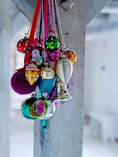 christmas ornaments - kerstversiering - kerstballen - decoratie - kleuren