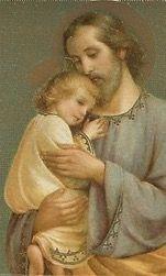 EL PEQUEÑO JESÚS, AMADO, CUSTODIADO Y RESPETADO CELOSAMENTE, POR EL MEJOR PAPÁ DE ESTE MUNDO. QUERIDO SAN JOSÉ TE AMAMOS !!!