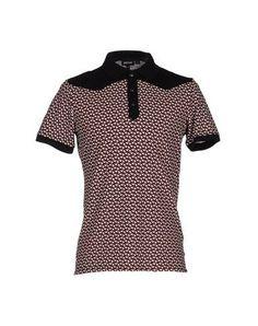 JUST CAVALLI Polo Shirt. #justcavalli #cloth #top #pant #coat #jacket #short #beachwear