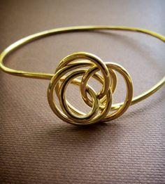 Twist Bangle by Simple Twist Jewelry