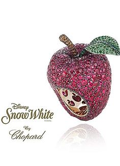 "Chopard gets Christmassy and launches ""Disney Princess Collection""  smallworldbigfun.com  #disney #disneyjewelry #chopard"