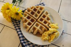 Food L'amor: {Homemade} Gluten Free Waffles. Freeze individually for waffles even on a busy morning.