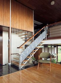 50s house designed by Peter Womersley #50s #house