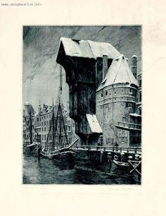 Danzig, Prussia, Beautiful Buildings, Pomeranian, Historical Photos, Ghosts, Genealogy, Wwii, Monochrome