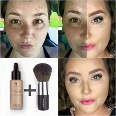 lovely foundation younique foundation and blush
