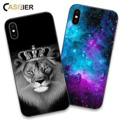 fed75af12ad Lion Phone Case For iPhone 6 6s Plus 7 8 Plus X Soft Silicone Cover For iPhone  6 6s 5 5s SE Funda Capinha Accessories