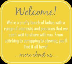 And Sew We Craft