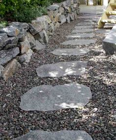 Inspiration — Benders Mailbox Landscaping, Small Backyard Landscaping, Landscaping With Rocks, Landscaping Plants, Small Gardens, Outdoor Gardens, Outdoor Walkway, Patio, Garden Stairs