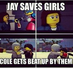 See, this is exactly why Nya is gonna choose Jay! XD