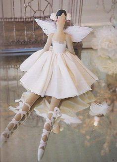 Minha bailarina em branco!