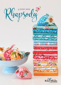 This listing is for a hand-cut Fat bundle of my Rhapsody fabrics for Riley Blake designs. 20 Pieces per bundle. Any excess postage cost on multiple orders will be refunded in full. Layer Cake Quilt Patterns, Layer Cake Quilts, Quilt Patterns Free, Free Pattern, Square Patterns, Block Patterns, Fat Quarters, Quilting Blogs, Quilting Projects