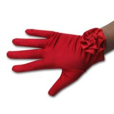 I love red gloves. Red Gloves, Cold Weather Gloves, Vintage Gloves, Wedding Gloves, Little Red Dress, Mode Chic, Doll Accessories, Fashion Accessories, Red Hats