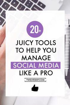 Social Media Management Tools To Increase Productivity +
