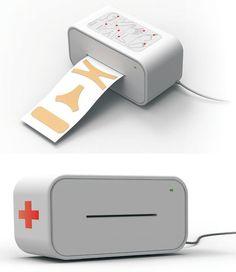 Band-Aid Printer concept
