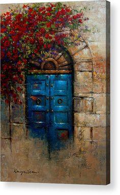 Italian Doors, Italian Art, Italian Paintings, European Paintings, Pintura Tole, Painted Doors, Acrylic Art, Islamic Art, Belle Photo
