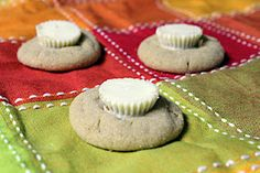 White Chocolate Reese's Peanut Butter Blossoms