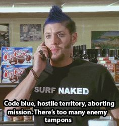 Jensen Ackles- Ten Inch Hero...OMG THE HAIR AH I NEED TO SEE THIS MOVIE Funny Supernatural Memes, Jared Supernatural, 10 Inch Hero, Daneel Ackles, Jensen Ackles, Hero Quotes, Princess Of Power, Dream Guy, Geek Culture