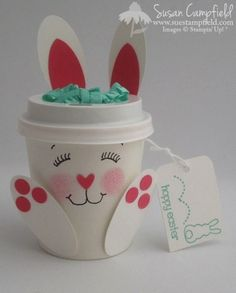 Bunny Brew Mini Coffee Cup Eggstra Spectacular Stampin' Up! Easter Party Favor09-imp
