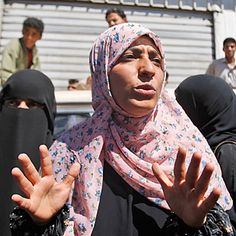 Tawakul Karman Age: 32 Occupation: Human-rights activist This 32-year-old mother of three is an unlikely activist. But as the chair of Women Journalists Without Chains — a Yemeni group that defends freedom of expression — she has been protesting at Sana'a University, in the nation's capital, every Tuesday since 2007.